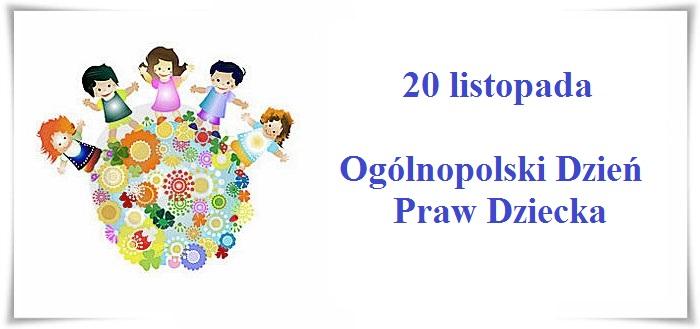Zespół Szkół W Prusach Ogólnopolski Dzień Praw Dziecka